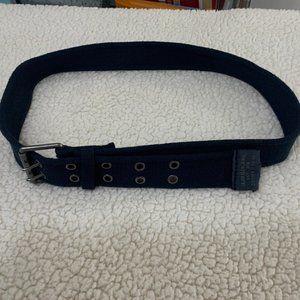 Calvin Klein Belt Size 34 Navy Blue